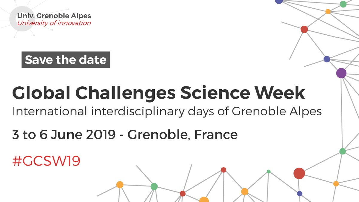 Global Challenges Science Week Grenoble